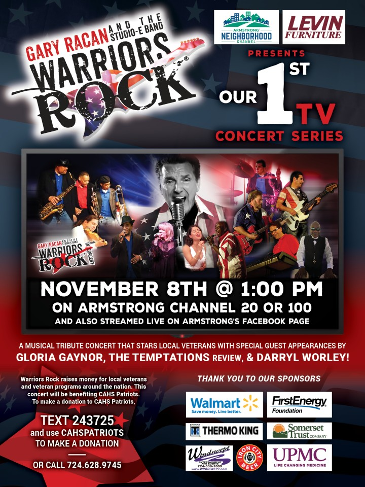 Warriors Rock TV Show FACEBOOK AD